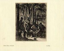Walter Miehe 2.g. - r. - r. en reposo guerra pintor * era artist * 1.wk