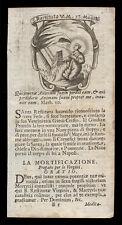 santino incisione 1700 S.RESTITUTA V.M.