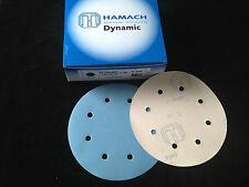 HAMACH -Dynamic Tackup (KLETT)- Schleifscheibe ∅ 203mm P240 (50 Stk.) 8 Loch