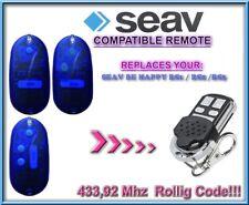 SEAV BE HAPPY RS1 / RS2 / RS3 compatibile telecomando / 433,92Mhz Rolling code