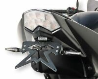 Support Eclairage de plaque Ermax  Kawasaki Z 750 R 2011/2012 NOIR BRILLANT(ebon