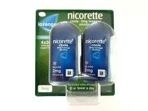 Nicorette Icy Mint Cools 2mg Lozenge Nicotine 4x20 Lozenges