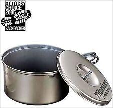 EVERNEW Titanium Cooker 3 Ceramic Non-Stick Pot ECA423 Fm Japan