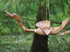 ente,windspiel,bambus,kokos,duck,40x24cm,wackelhals,enten,handarbeit,garten