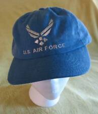 US AIR FORCE Cross Into Blue Denim CAP Hat Adult Strapback Military America USA