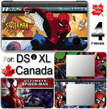 Spider Man SKIN COVER STICKER for NINTENDO DSi XL LL
