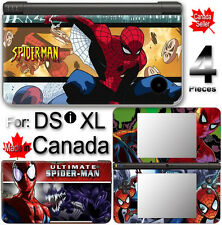 Spider Man SKIN COVER STICKER for NINTENDO DSi XL LL