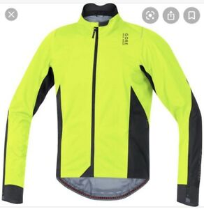 NEW Gore bike wear oxygen 2.0 Gore-Tex Active Shell Jacket Neon/black - Large