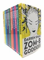 Darren Shan Zom-b 12 Books collection set inc Goddess, Fugitive, Bride, Family,