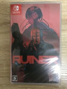 RUINER Nintendo Switch Video Games Japanese Version Tracking NEW