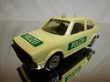 NOREV VW VOLKSWAGEN GOLF I - POLIZEI POLICE - CREAM 1:43 - GOOD CONDITION