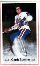 1981-82 Regina Pats #2 Garth Butcher