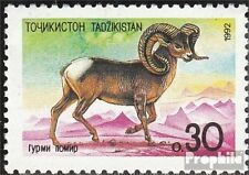 Tajikistan 4 (complete.issue.) unmounted mint / never hinged 1992 Flora