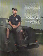 Coupure de presse Clipping 2011 Sean Casey  Chasseur de Tornades (7 pages)