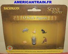 Voie 0 - Bachmann Figurines chats 5 Pièces 33157 Neu