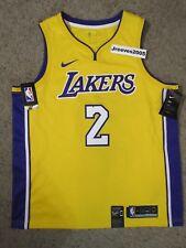 5001e4822 Nike La Los Angeles Lakers Lonzo Ball  2 Home Jersey Sz XL 864423 736