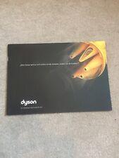 Rare German Dyson Vacuum Cleaner Brochure (DC08, DC11, DC15)