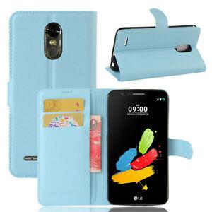 For LG K40 K8 K10 K30 2017 2018 Magnetic Flip Leather Wallet Phone Case Cover UK