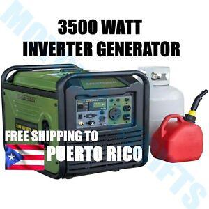 Sportsman 3500 Watt Inverter Generator Dual Fuel Sine Wave 120V QUIET