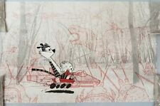 Calvin and Hobbes limited Art Print