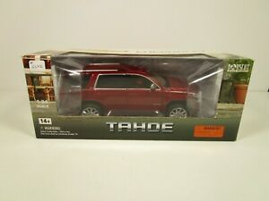 NORSCOT 1/24 *VHTF* METALLIC RED 2015 CHEVY TAHOE NEW *READ* FACTORY SEALED
