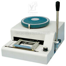 PVC ID Credit Card Embossing Machine Stamper Embosser +36 OCRB Big Size Letters