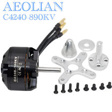 Aeolian 4240 890KV ourtunner brsuhless electric motor for RC airplane skateboard