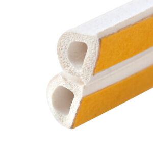5m D Type Seal Strip Self Adhesive Window Home Door Draught Excluder Foam i