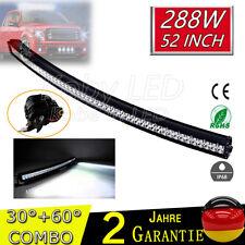 50Inch 288W Led Work Light Bar Spot&Flood Combo Driving Roof Lamp Offroad 12V24V