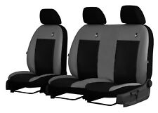 """VW CRAFTER 2006-2016 ECO LEATHER """"ROAD"""" SEAT COVERS MADE TO MEASURE FOR VAN"""