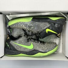 Nike Zoom KOBE VIII 8 SYSTEM SS CHRISTMAS GREEN BLACK 639522-001 SZ 10 Grinch
