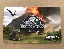 THE JURASSIC WORLD FALLEN KINGDOM GIFT CARD COLLECTING