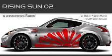 Rising Sun Aufkleber Set 02 Tuning Muster Design JDM Style