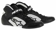 New Alpinestars TECH 1-K Karting Shoes Black/White/Black