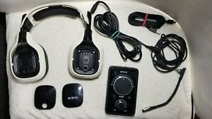 Astro A40 Mix Amp, Gaming Headset, & Cables Compatible with PC, PlayStation, Xbo