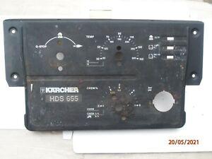 Karcher HDS 655 Instrument Panel.
