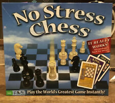 No Stress Chess Board Game Learn Chess Easy For Kids and Adults