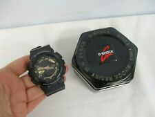 CASIO G SHOCK GA-110RG 5146 SPECIAL COLORS BLACK & GOLD ANALOG DIGITAL WATCH