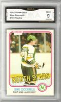 1981-82 O-Pee-Chee #161 Dino Ciccarelli RC | Graded Mint 9