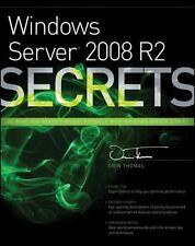 Windows Server 2008 R2 Secrets Orin Thomas