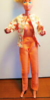 VINTAGE BARBIE DOLL 2 pc OUTFIT - HANDMADE - SPRING & SUMMER WEAR