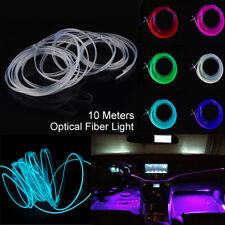 Car Interior Ambient Light Decor Atmosphere Optical Fiber Lamp Door Light 10m