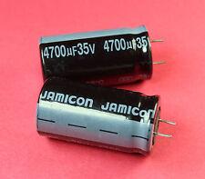 5pcs Jamicon SK 4700uF 35v Radial Electrolytic Capacitor