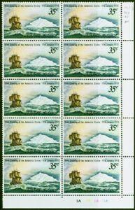 Norfolk Island 1973 Captain Cook 35c SG129 V.F MNH Corner Blocks of 10