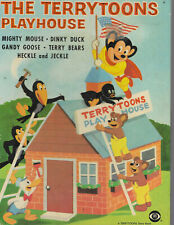 THE TERRYTOONS PLAYHOUSE book Mighty Mouse Heckle Jeckle 1958 CBS Television
