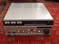 Panasonic AG-6500 VHS montage vidéo enregistreur de cassette + manuels et conduit.