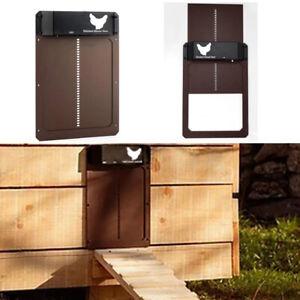 Automatic Chicken Coop Door Light-Sensitive Automatic Chicken House Pet Door