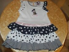 Vestito bimba Monnalisa(NY&LON)mesi 24 in cotone.