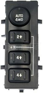 03-07 SILVERADO 1500 1500HD 2500 2500HD DORMAN 4 BUTTON 4WD SELECTOR SWITCH