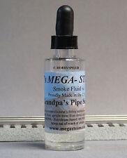MEGA-STEAM GRANDPA'S PIPE SCENTED SMOKE FLUID train for lionel mth liquid JTM120